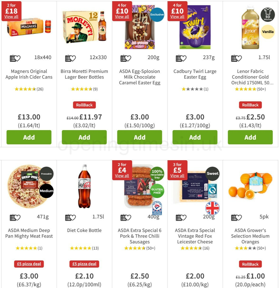 ASDA Offers from February 25
