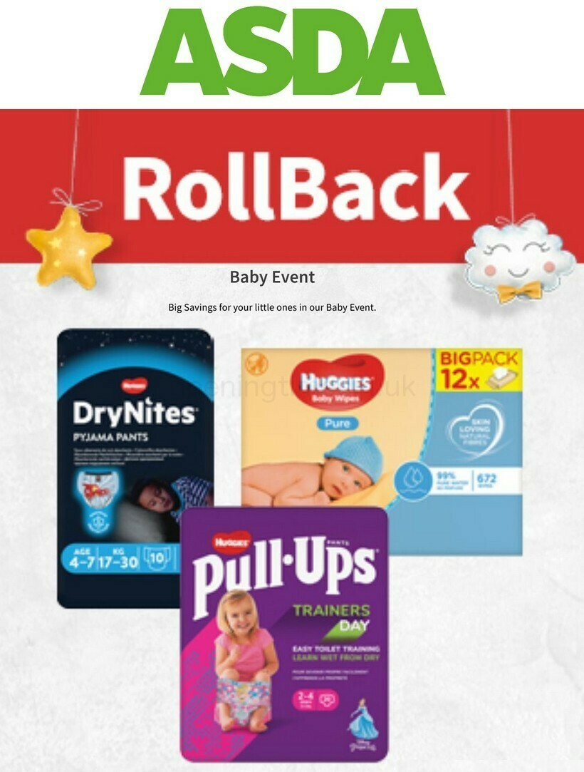 ASDA Baby Event Offers from September 23