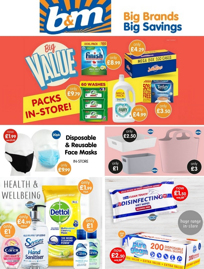 B&M Offers from June 24
