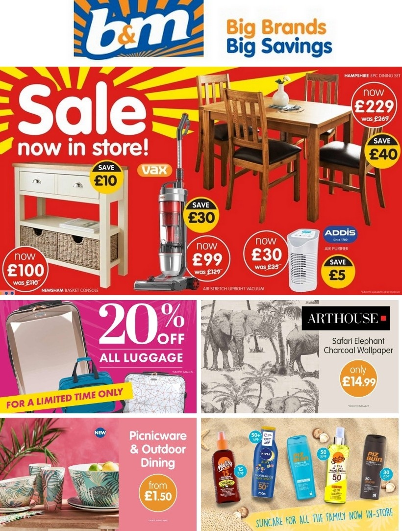 B&M Offers from July 8