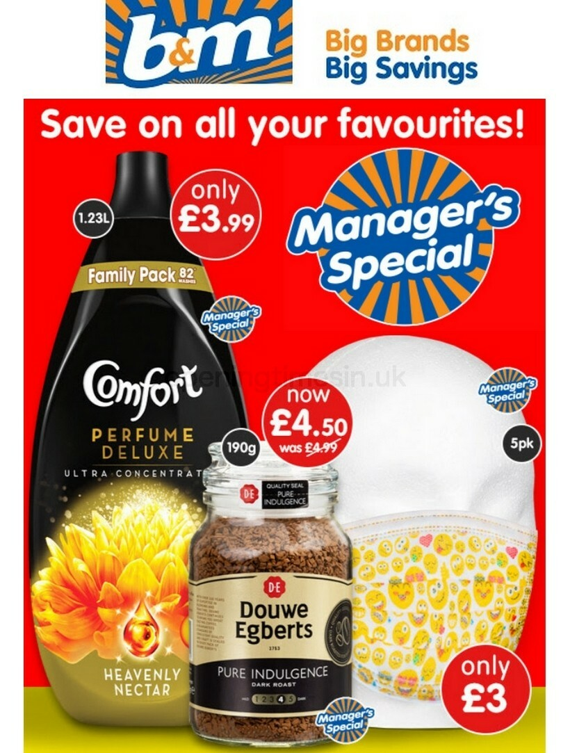 B&M Offers from August 5