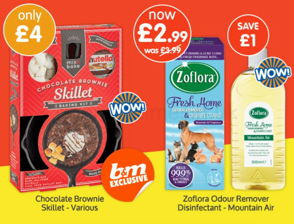 B&M Offers from February 20