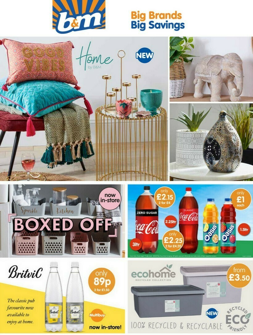 B&M Offers from June 1