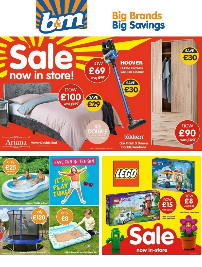 B&M Offers from July 20