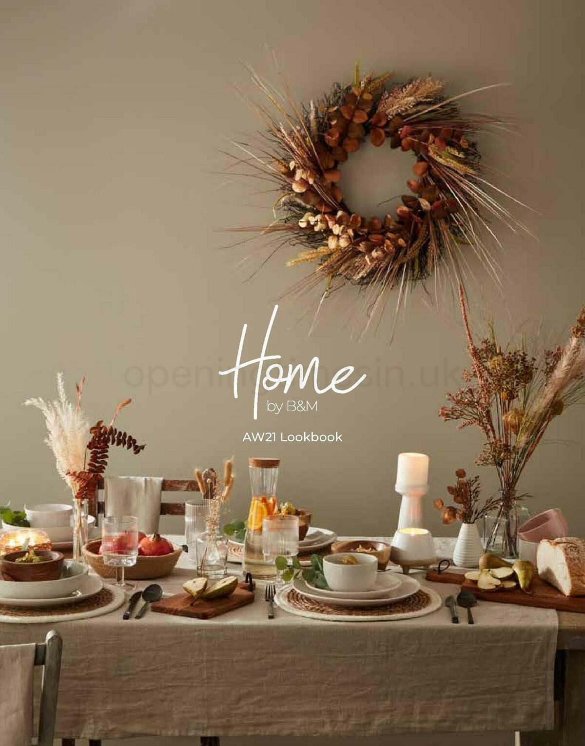 B&M Home Lookbook Offers from September 12