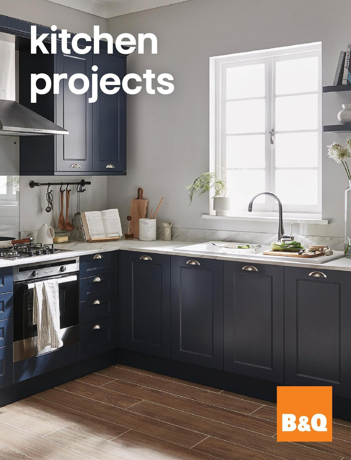 B&Q Kitchen Projects Offers from December 20