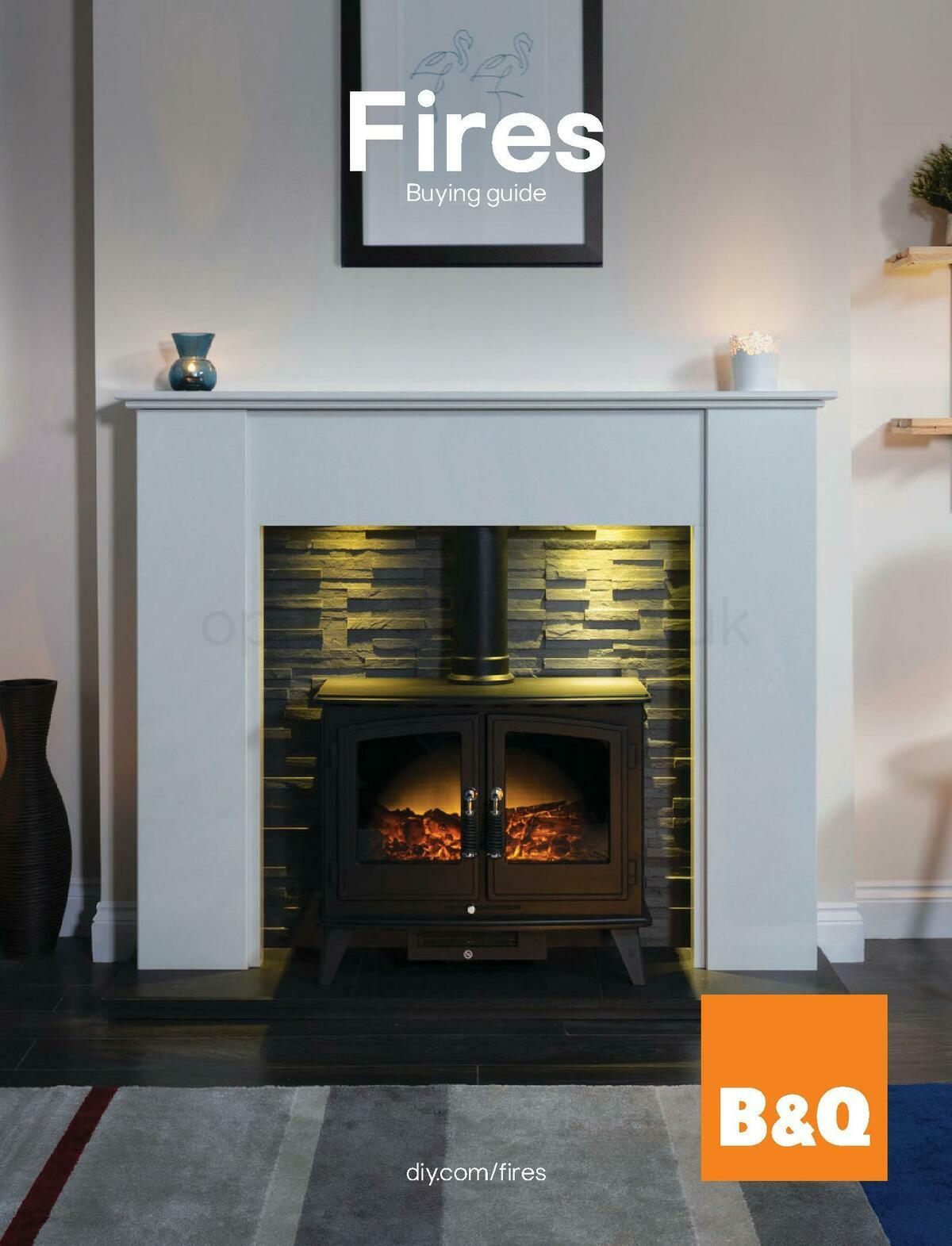 B&Q Fire Collections Offers from November 1