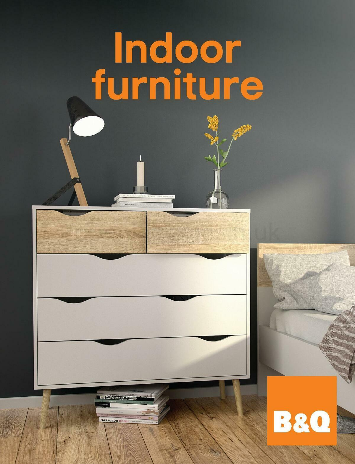 B&Q Indoor Furniture Offers from November 10