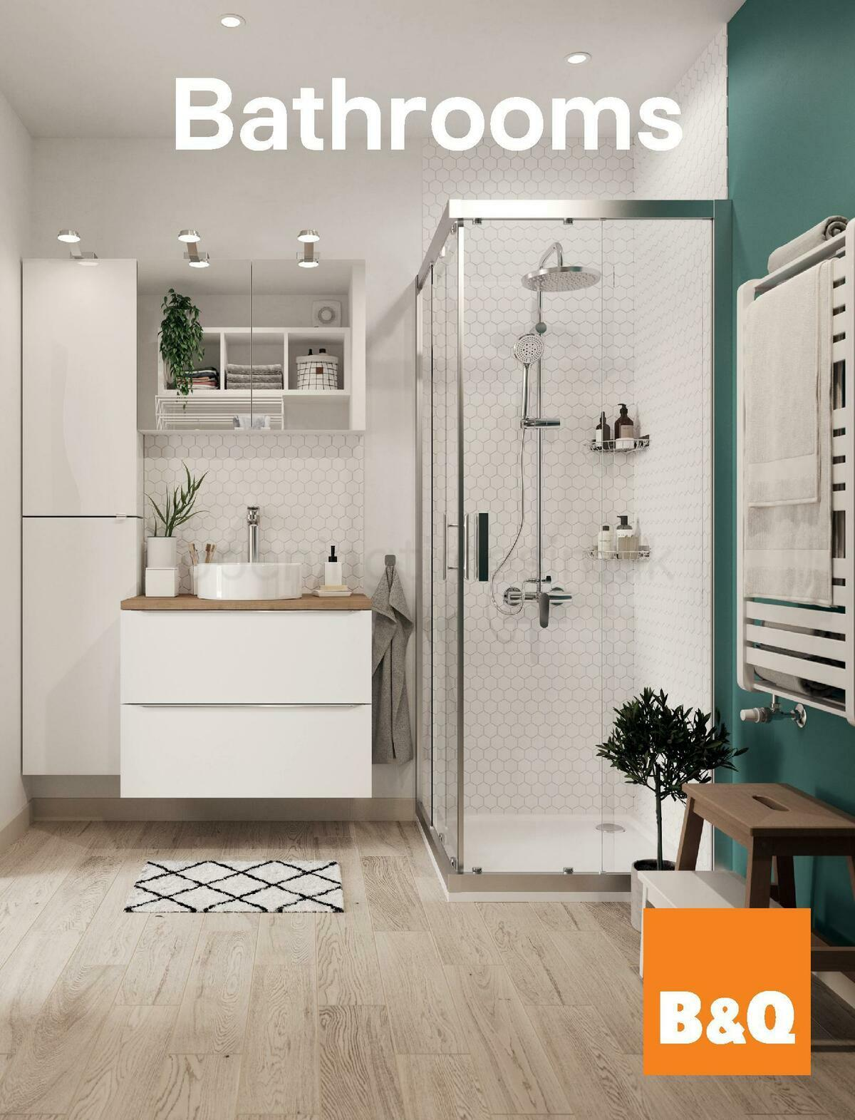 B&Q Bathroom Collections Offers from November 1
