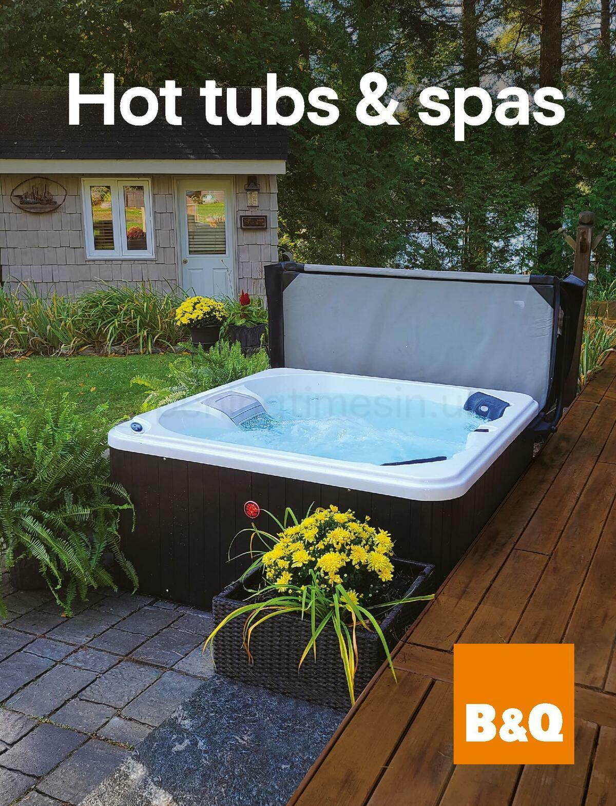 B&Q Hot Tub & Spa Collections Offers from March 1
