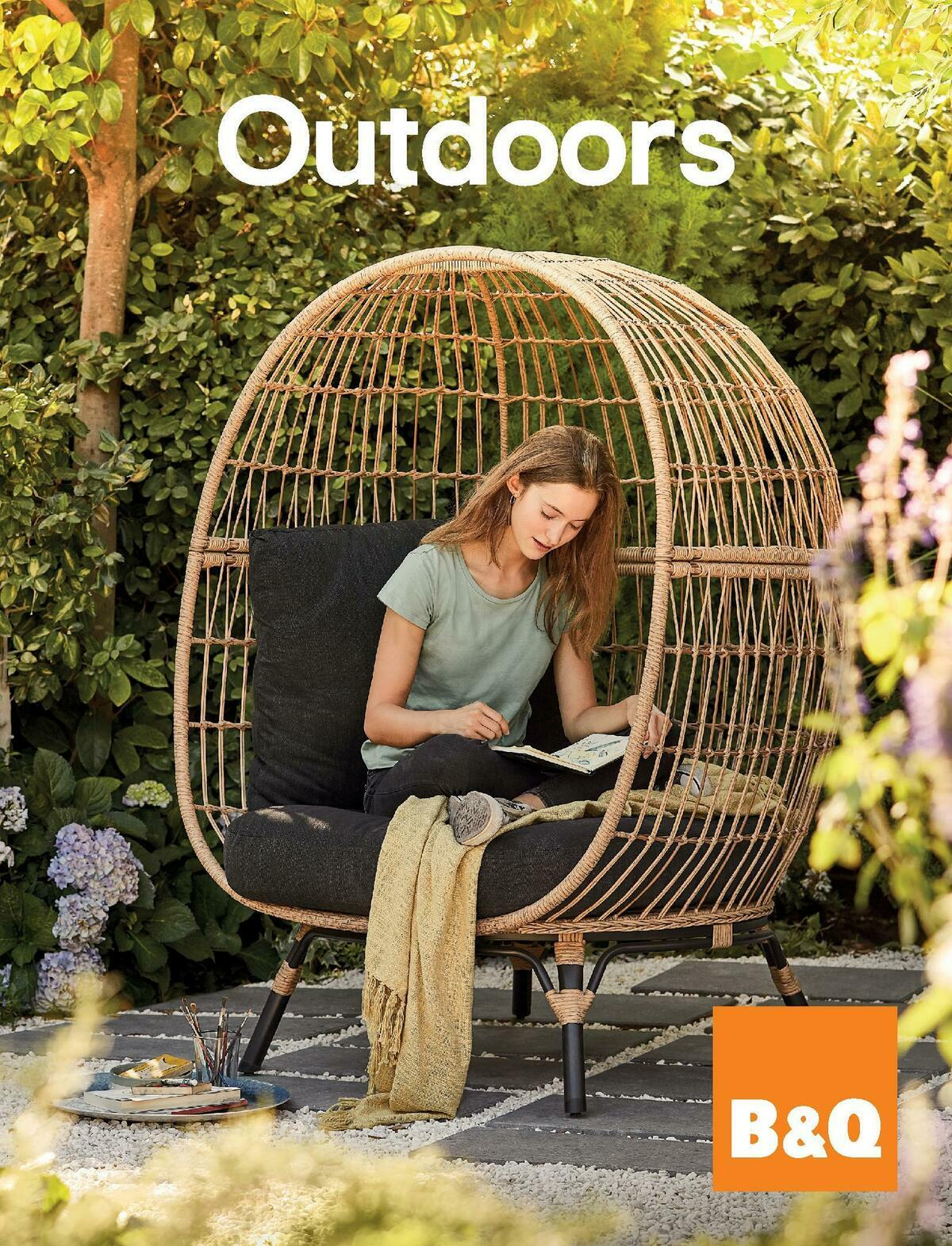 B&Q Outdoors Offers from March 1