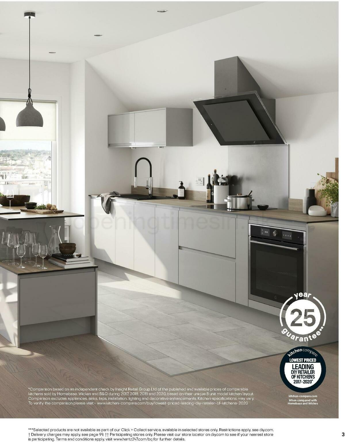 B&Q Kitchens Inspiration Offers from June 1