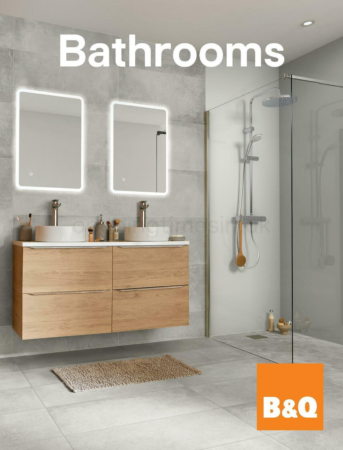 B&Q Bathroom Collections Offers from May 1
