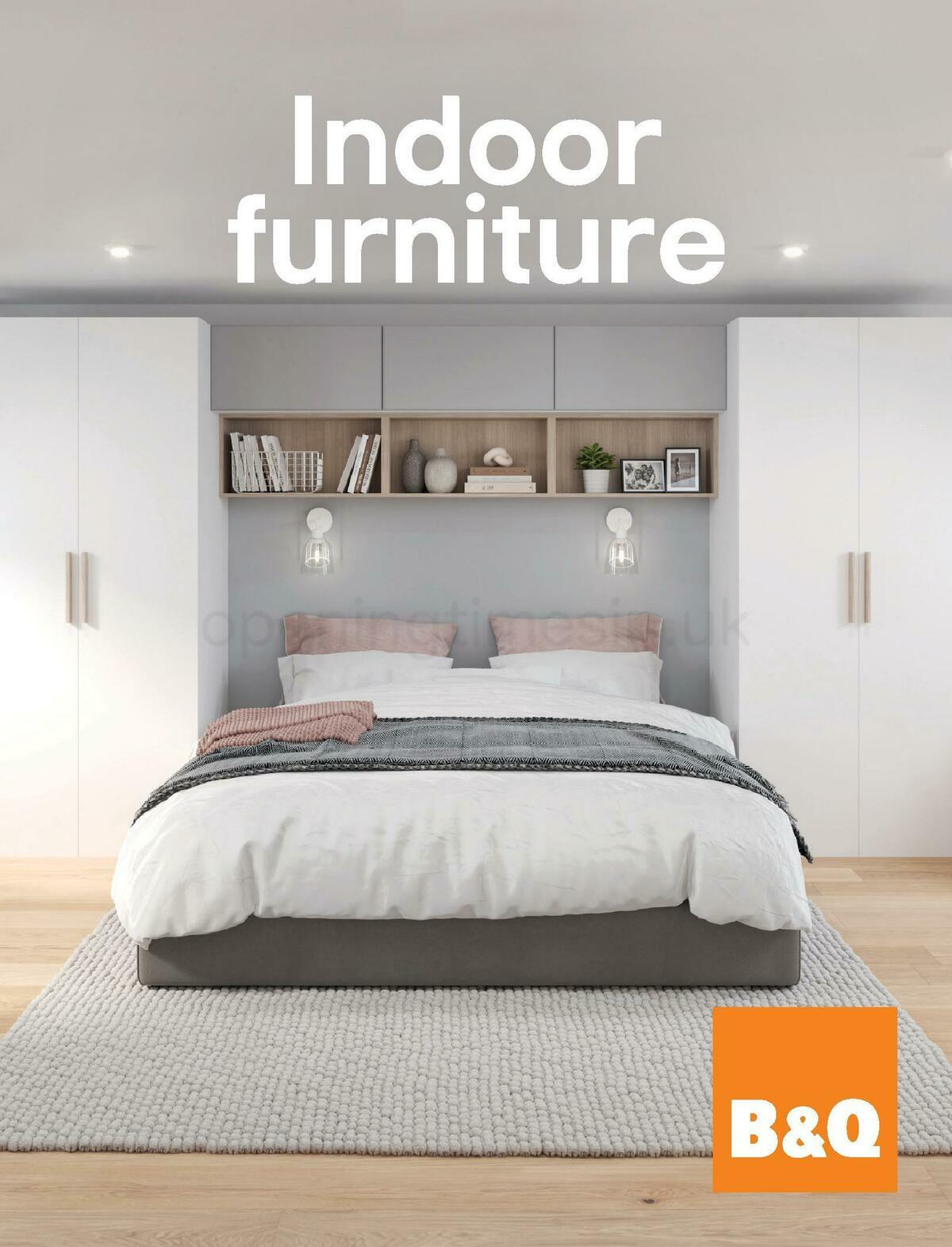 B&Q Indoor Furniture Offers from September 1