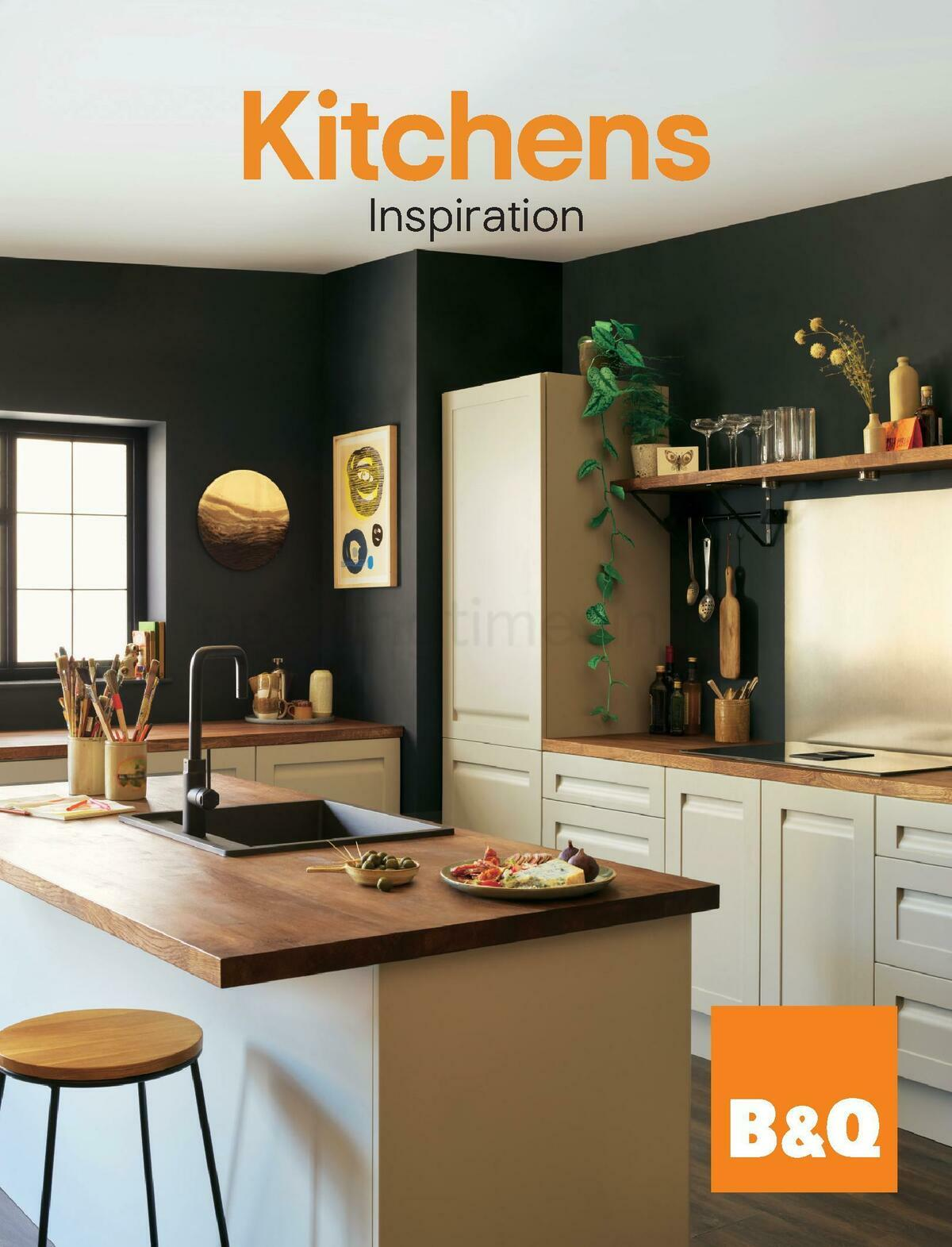B&Q Kitchens Inspiration Offers from September 1