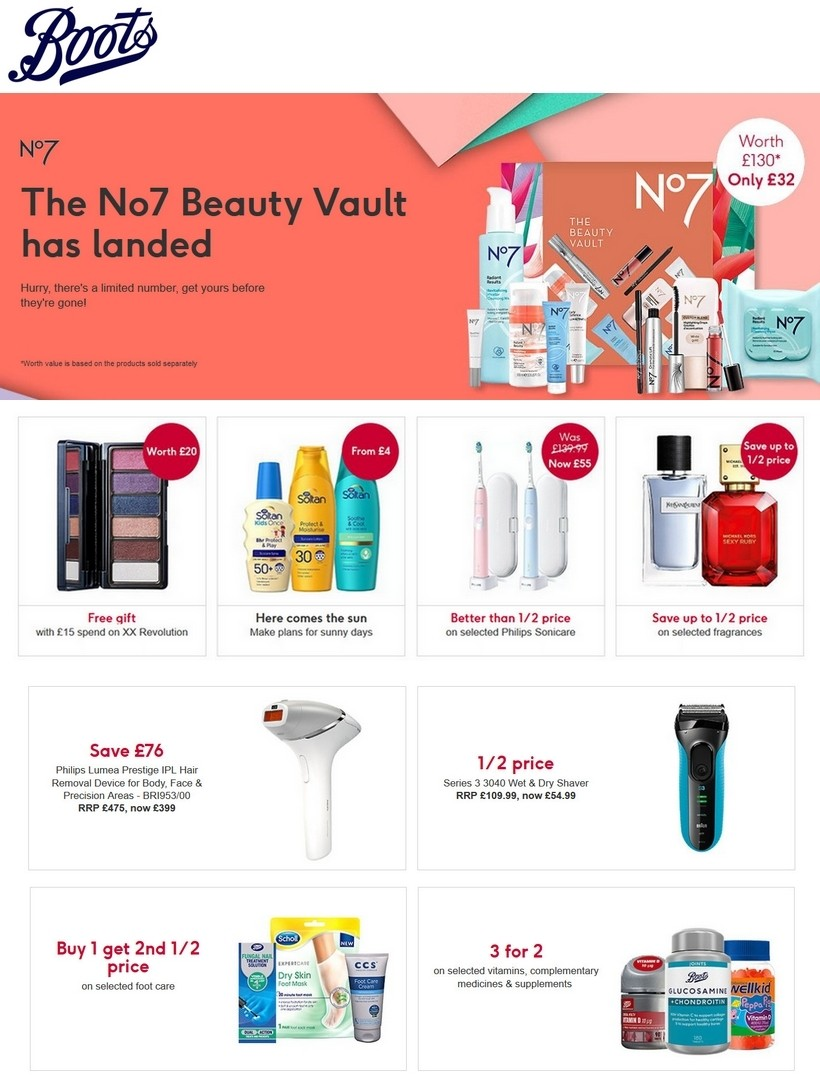 Boots Offers from July 16