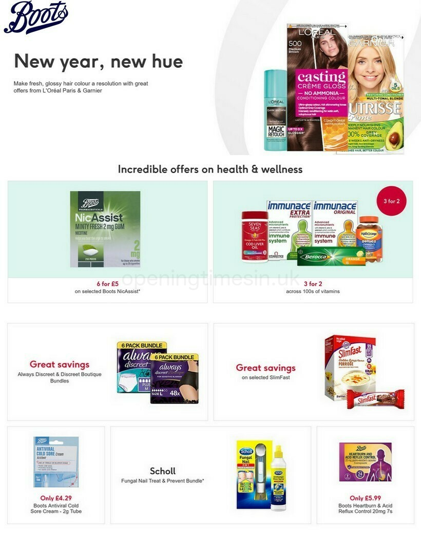 Boots Offers from February 5