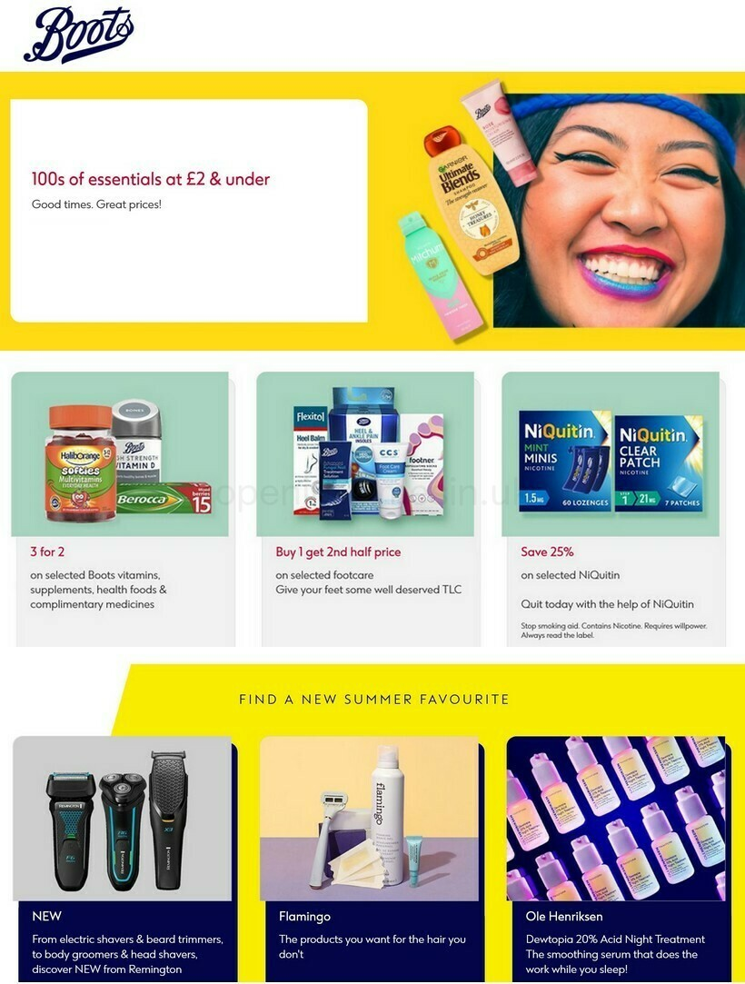 Boots Offers from July 6