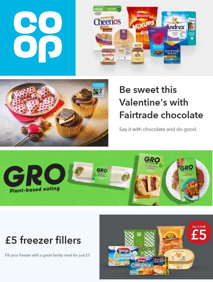Co-op Food Offers from February 8