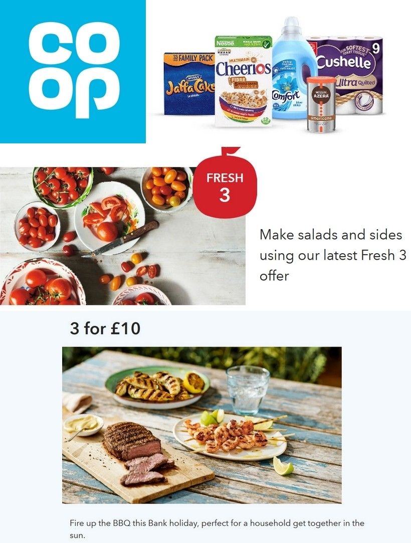 Co-op Food Offers from May 23