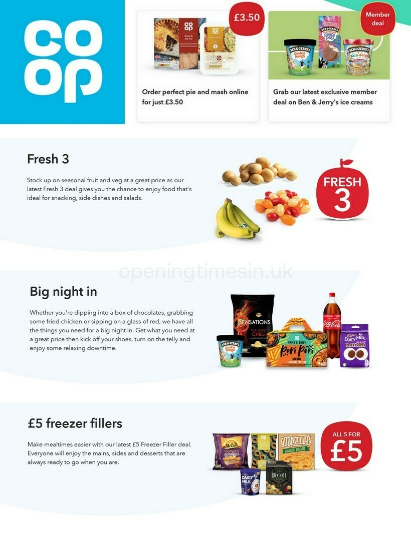 Co-op Food Offers from February 17