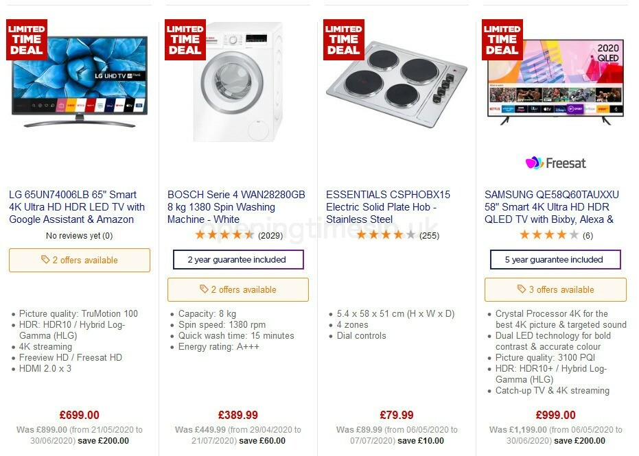 Currys Offers from July 31