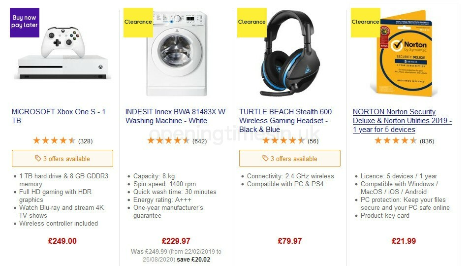 Currys Offers from September 11