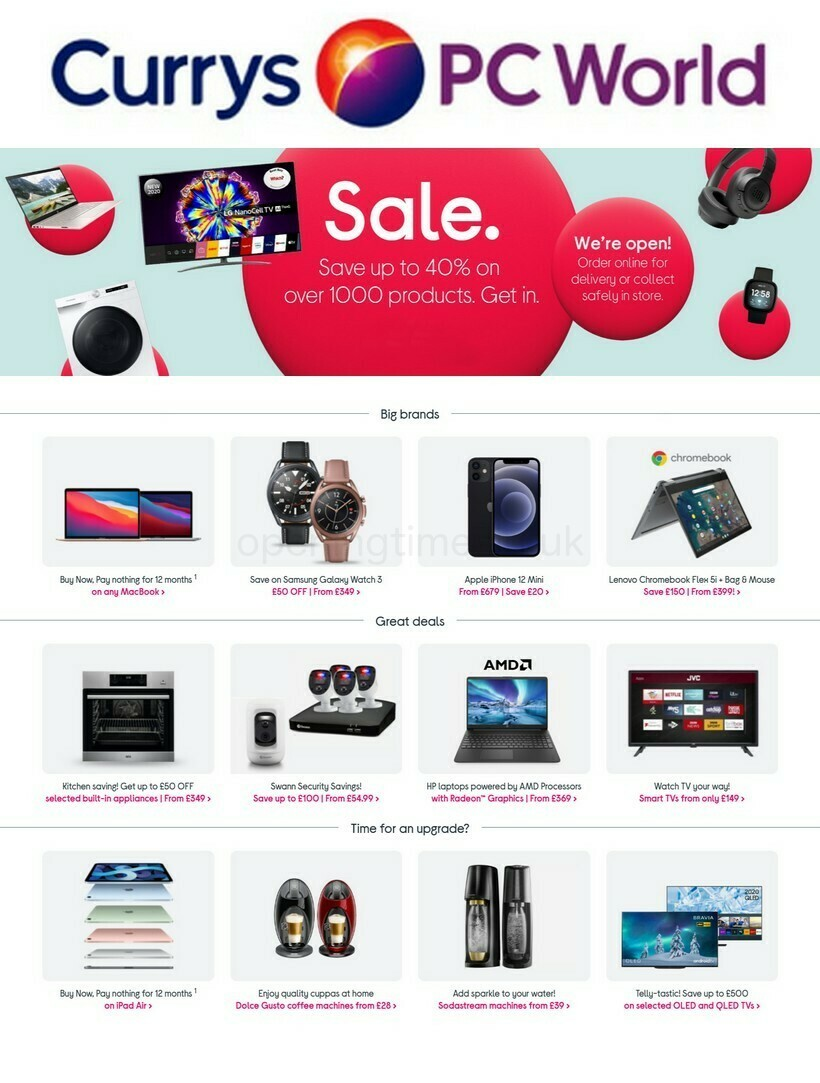 Currys Offers from January 15