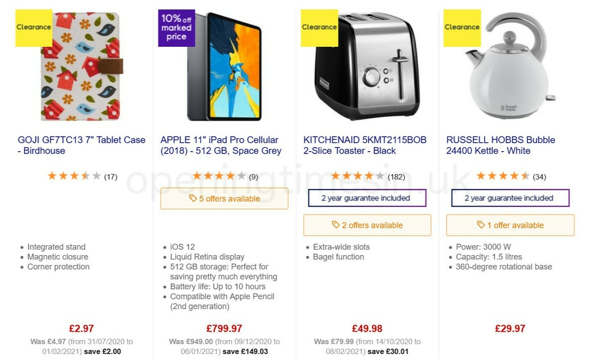 Currys Offers from February 12