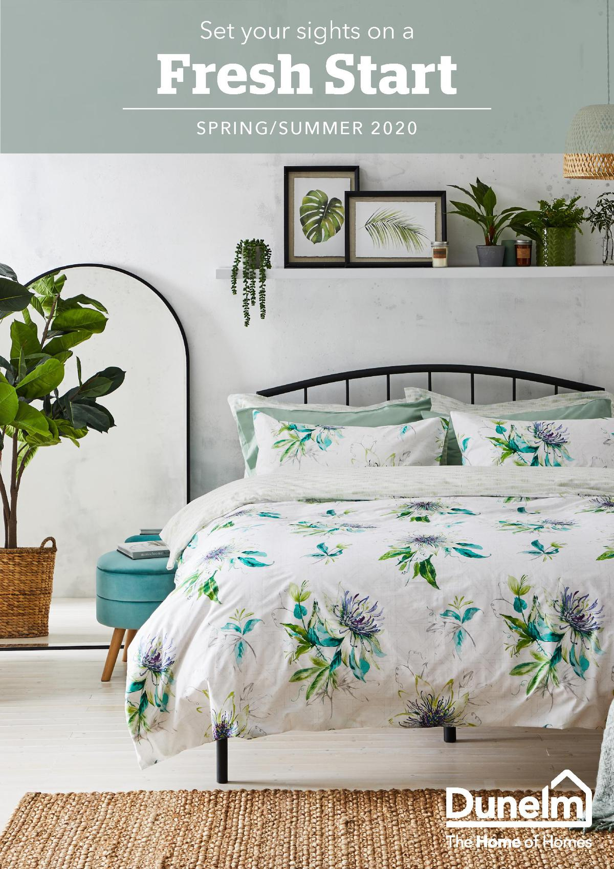 Dunelm Spring Catalogue Offers from February 15
