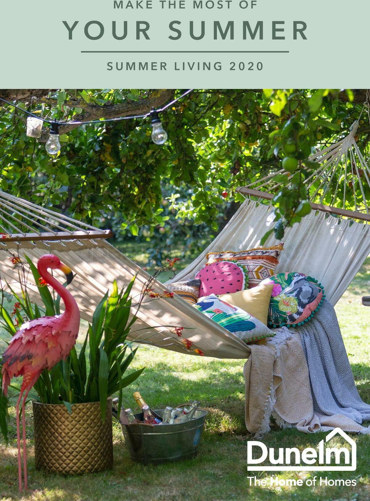 Dunelm Summer Living Offers from May 1