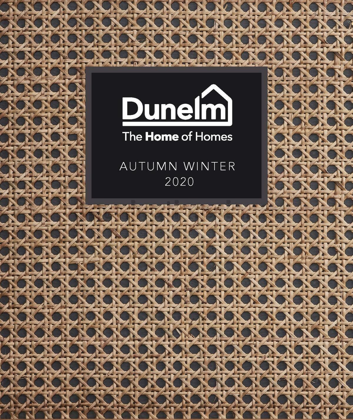 Dunelm AW20 Look Book Offers from September 15