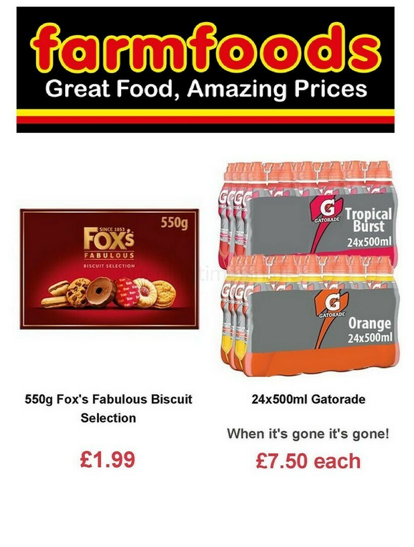 Farmfoods Offers from February 16