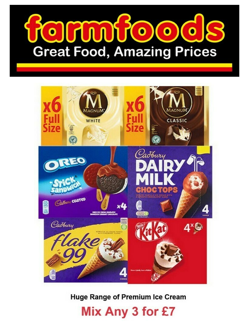 Farmfoods Offers from March 30