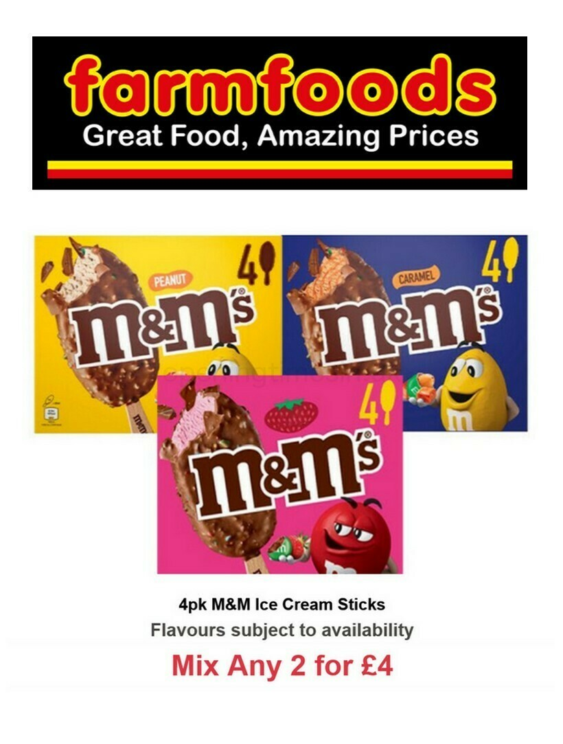Farmfoods Offers from April 20