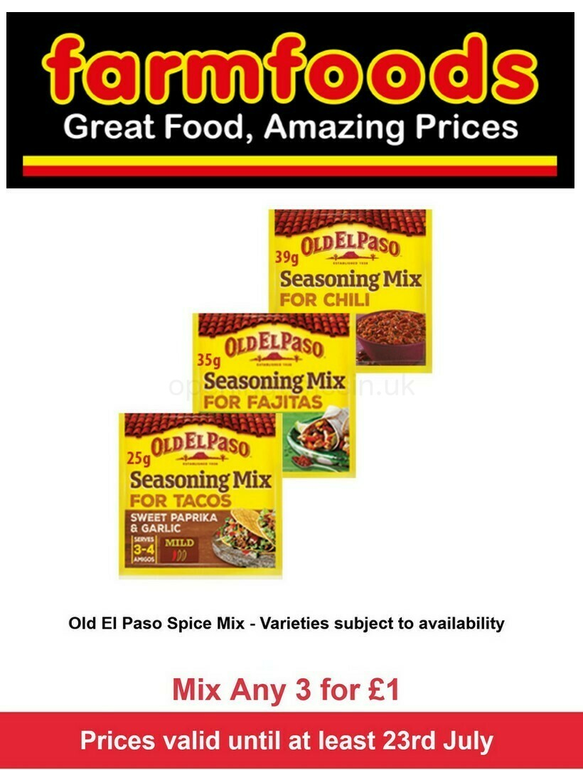Farmfoods Offers from July 14