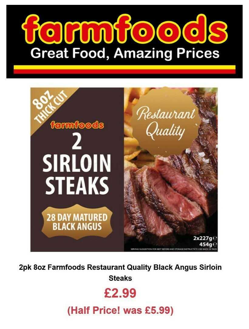 Farmfoods Offers from October 5