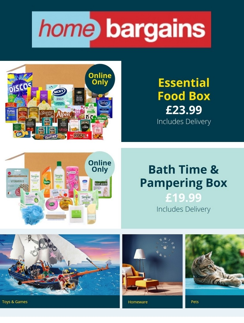 Home Bargains Offers from May 13