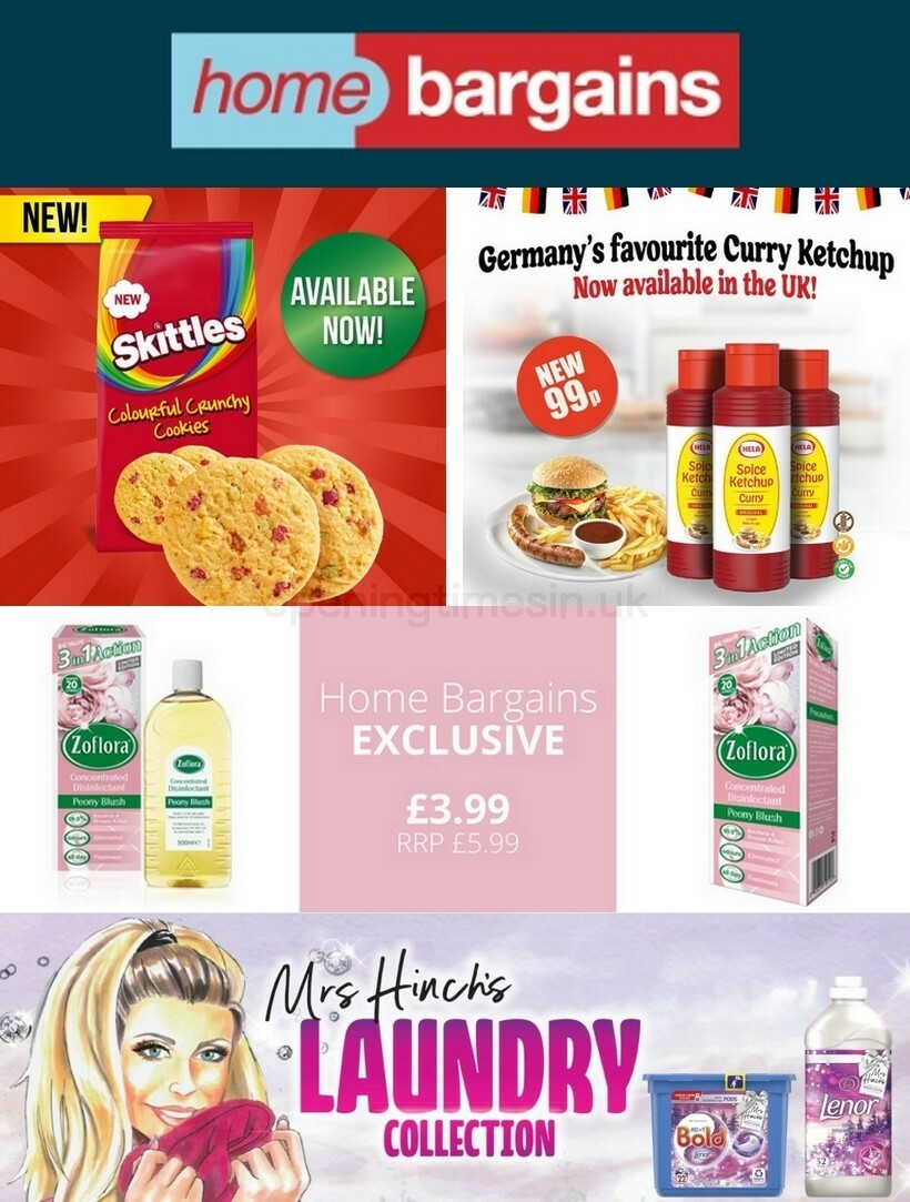 Home Bargains Offers from September 9