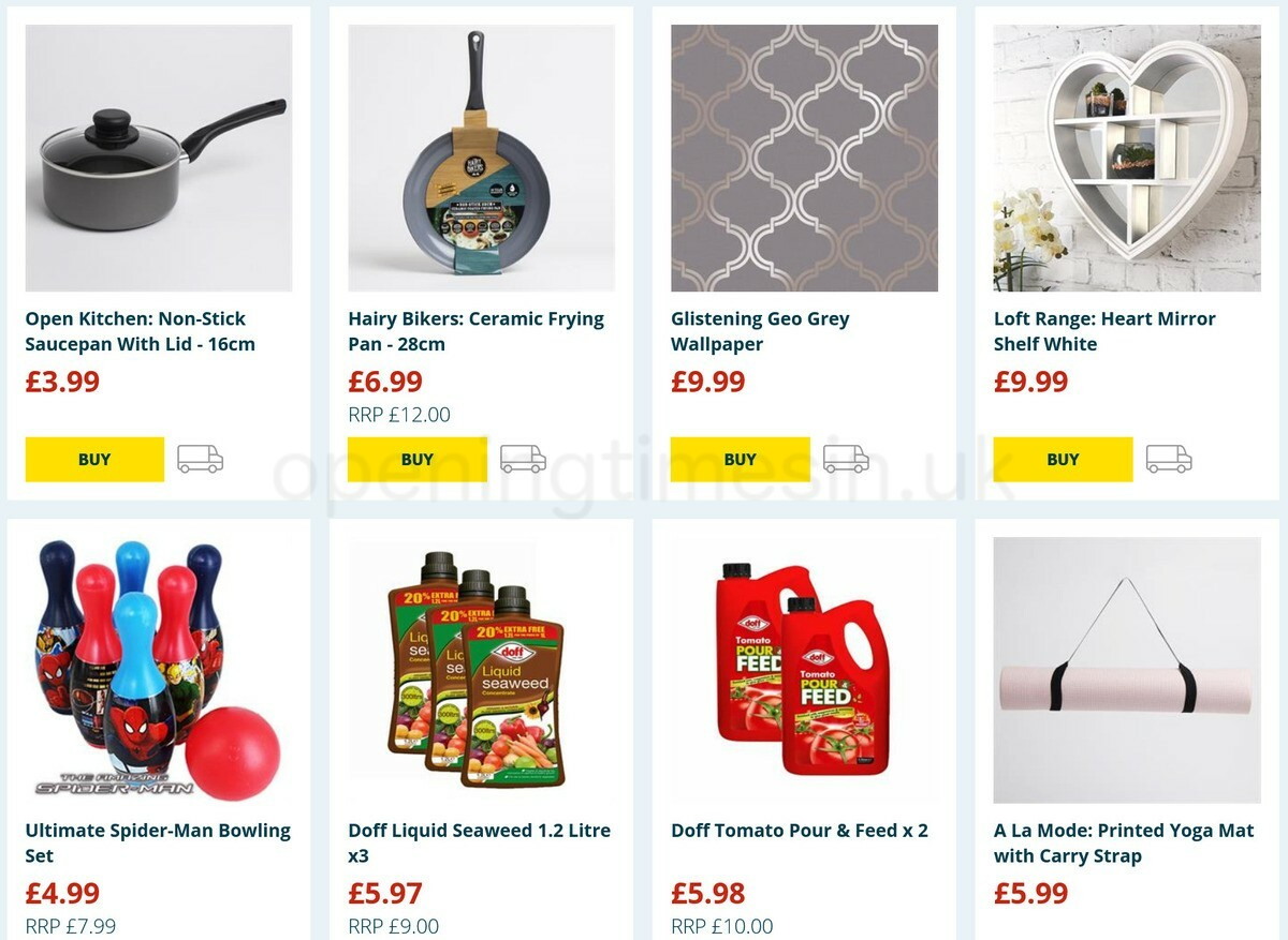 Home Bargains Offers from February 16