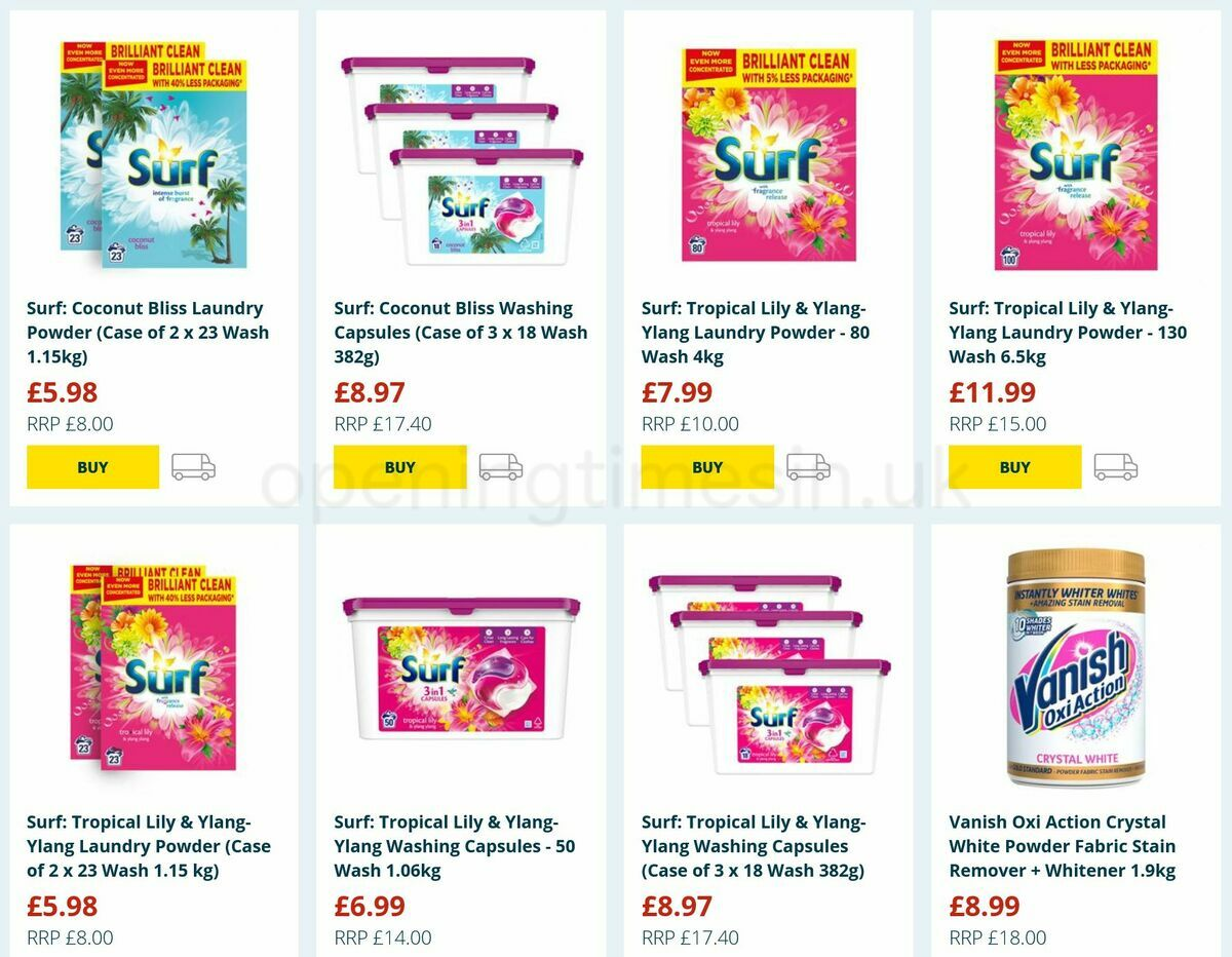 Home Bargains Offers from August 25