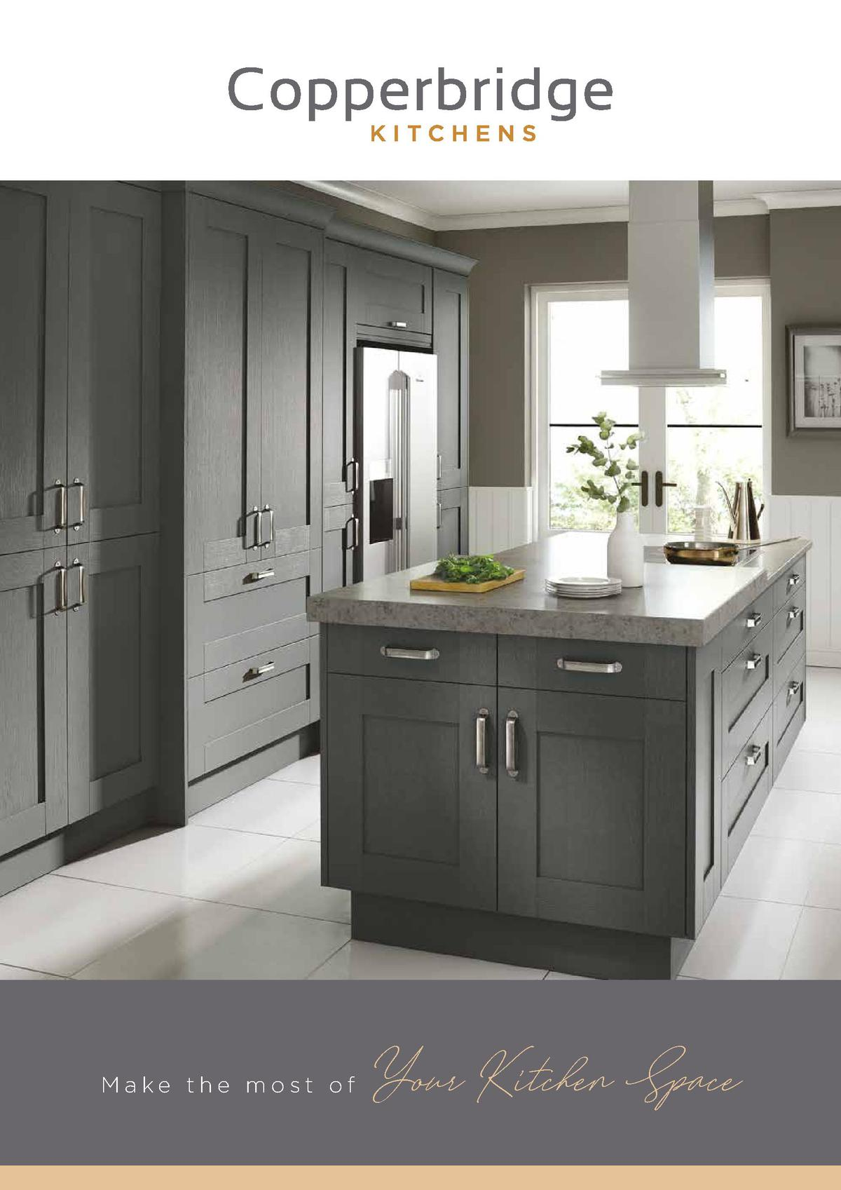 Homebase Copperbridge Kitchens Brochure Offers from January 1