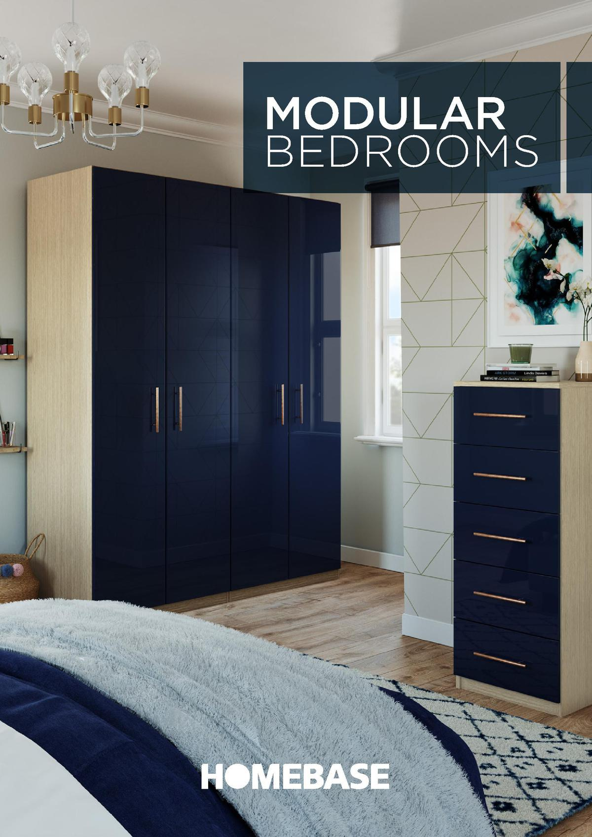 Homebase Modular Bedrooms Offers from August 1