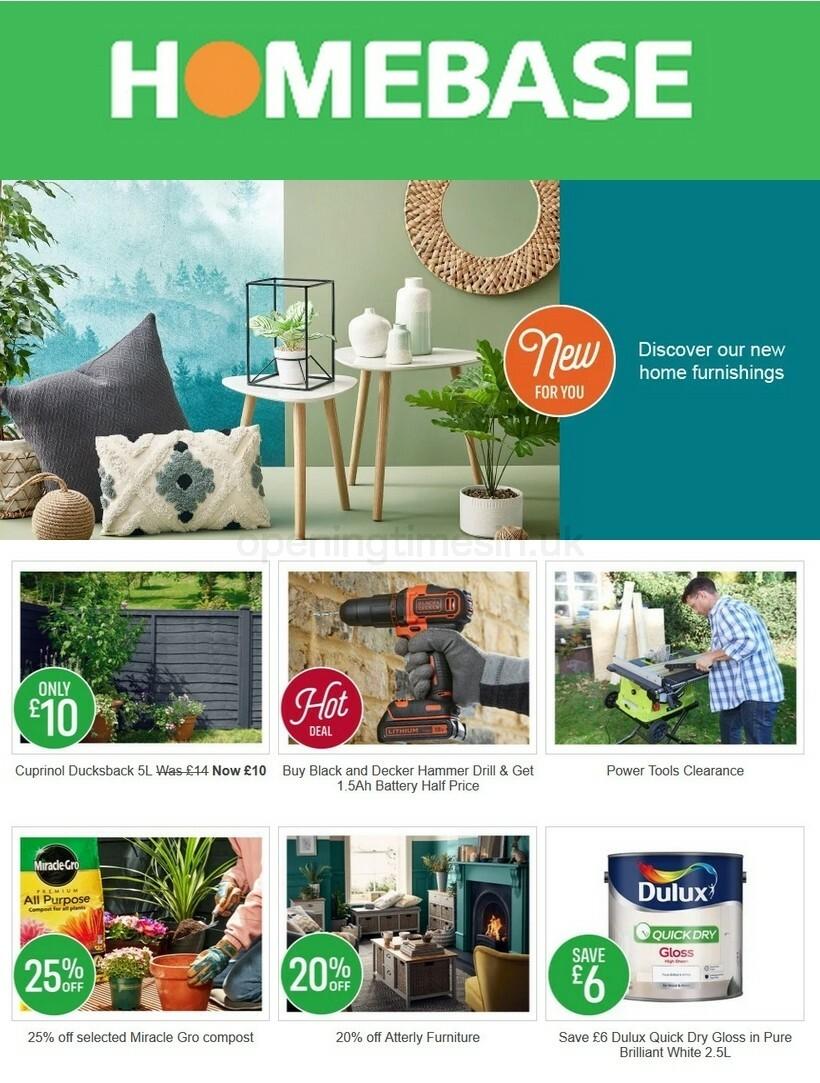 Homebase Offers from September 29