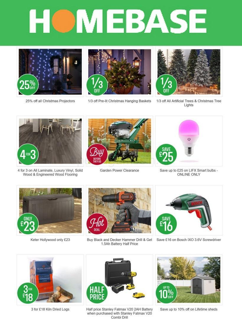 Homebase Offers from November 27