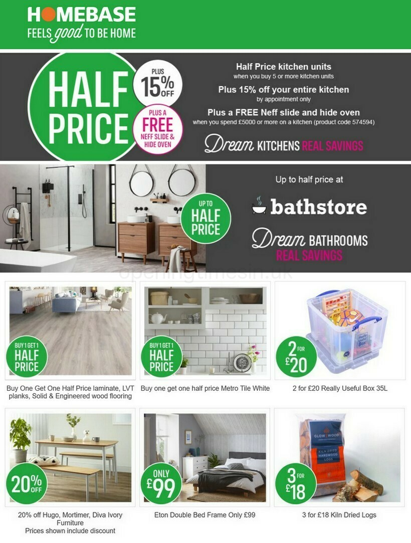 Homebase Offers from January 1