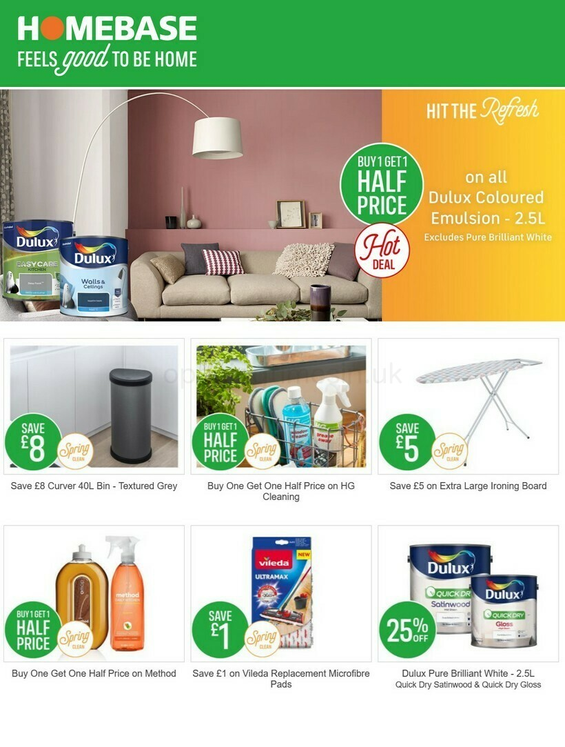Homebase Offers from March 1