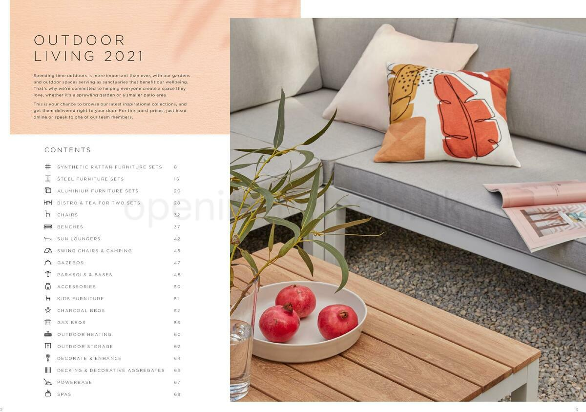 Homebase Outdoor Living Brochure Offers from May 18