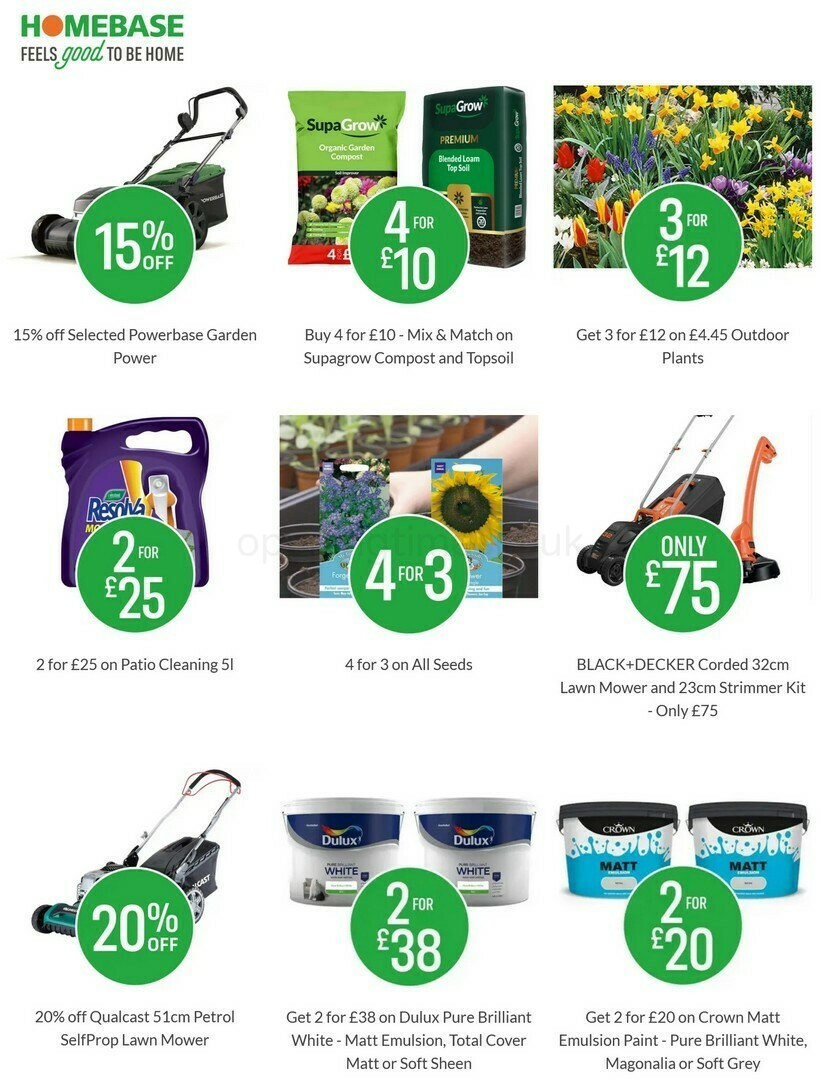 Homebase Offers from May 19