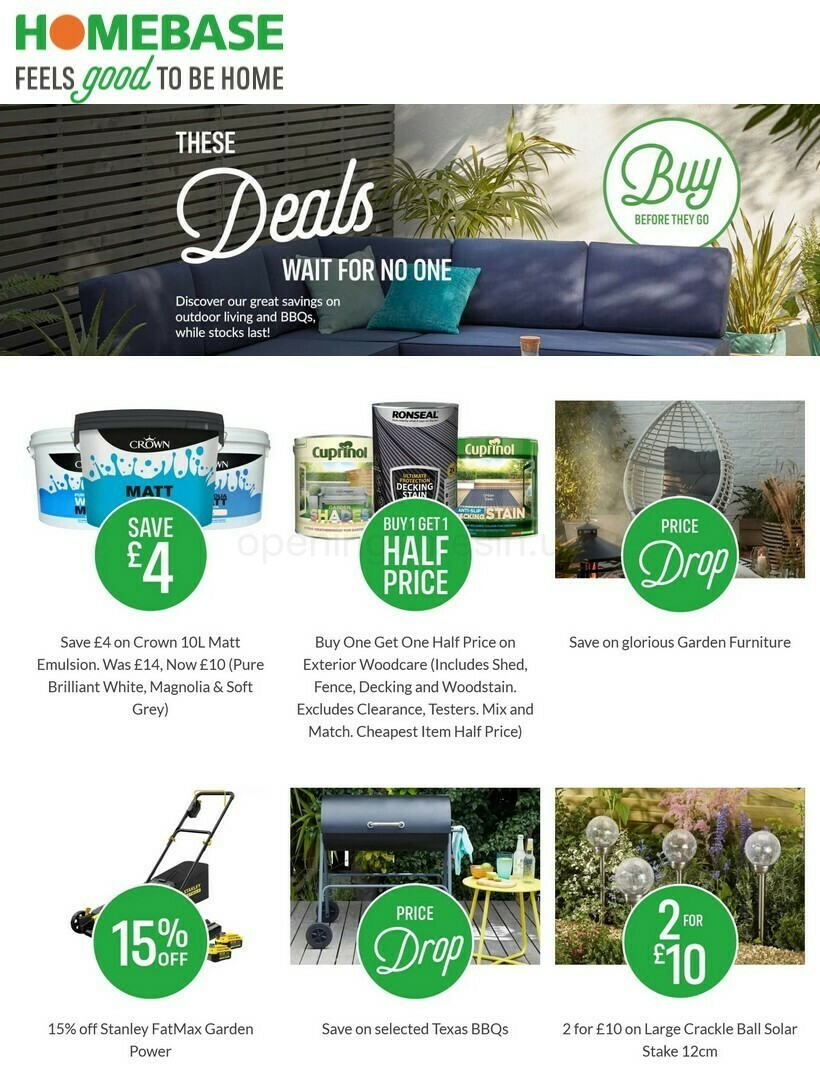Homebase Offers from July 16